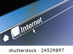 Internet browser concept - stock photo