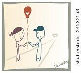 in love | Shutterstock .eps vector #24532153