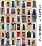 Small photo of sampler of doors from malta