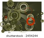 retro vector with grunge...   Shutterstock .eps vector #2454244
