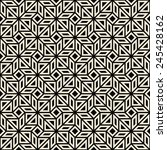 classic geometric black and... | Shutterstock .eps vector #245428162