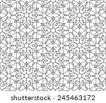 seamless pattern of... | Shutterstock .eps vector #245463172