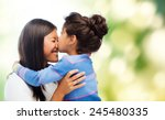 family  children and happy... | Shutterstock . vector #245480335