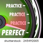 Practice Word Repeated On A...