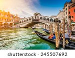 Panoramic View Famous Canal Grande - Fine Art prints