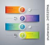 abstract 3d digital...   Shutterstock .eps vector #245535946