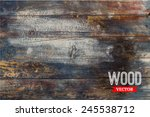 Vector Wood Texture. Background ...