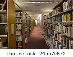 volumes of books on bookshelf...   Shutterstock . vector #245570872