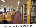 Volumes Of Books On Bookshelf...