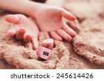 Stock photo girl s hands during sex 245614426