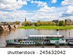 dresden  germany   may 12  2013 ... | Shutterstock . vector #245632042