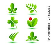 nature icons | Shutterstock .eps vector #24563383