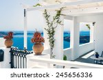 Greek House With Terrace And...
