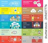 element of business technology... | Shutterstock .eps vector #245657776