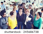 diversity support organization... | Shutterstock . vector #245686738