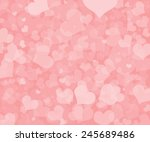 valentine's day background with ... | Shutterstock . vector #245689486