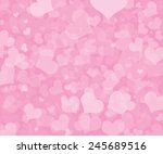 valentine's day background with ... | Shutterstock . vector #245689516