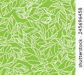 seamless leaf background....   Shutterstock .eps vector #245696458