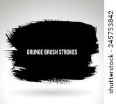 brush stroke and texture.... | Shutterstock .eps vector #245753842