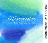 watercolor abstract colorful... | Shutterstock .eps vector #245770102