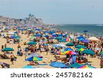 Ocean City   July 6  Crowded...