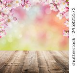 spring abstract background with ... | Shutterstock . vector #245825572