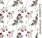 seamless floral pattern   | Shutterstock . vector #245859775