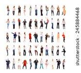 people diversity workforce... | Shutterstock . vector #245884468