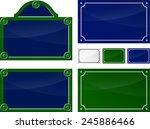 illustration of french blank... | Shutterstock .eps vector #245886466