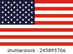 vector image of united states... | Shutterstock .eps vector #245895706