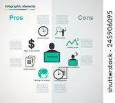 vector freelance infographic...   Shutterstock .eps vector #245906095