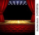 theater | Shutterstock .eps vector #245908936