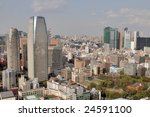 multi story buildings in tokyo... | Shutterstock . vector #24591100