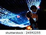 groom and bride at night | Shutterstock . vector #24592255