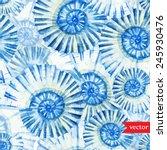 Sea  Ocean  Pattern  Watercolo...