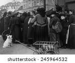Bread Lines In Germany At The...