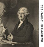 Thomas Jefferson 1743 1826 At A ...