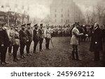 general henri petain being... | Shutterstock . vector #245969212
