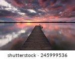 Sunset At Lake Starnberg ...