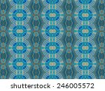 ethnic pattern. abstract... | Shutterstock . vector #246005572