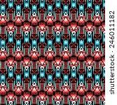 ethnic pattern | Shutterstock .eps vector #246011182