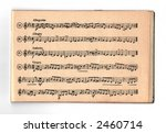 old notes book | Shutterstock . vector #2460714
