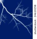 bolt on a blue   Shutterstock . vector #24610258
