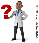 fun doctor | Shutterstock . vector #246202642