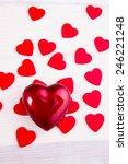 valentines heart | Shutterstock . vector #246221248