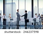 business people board room... | Shutterstock . vector #246237598