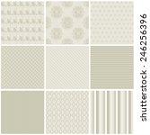 vector illustration of a set of ... | Shutterstock .eps vector #246256396