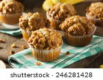Homemade Banana Nut Muffins...