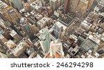 new york top view | Shutterstock . vector #246294298