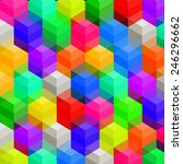 colorful modern abstract... | Shutterstock .eps vector #246296662